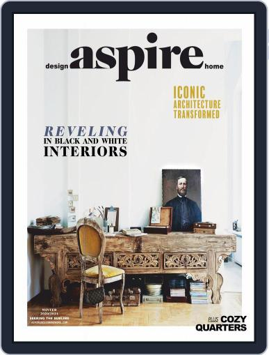 ASPIRE DESIGN AND HOME Magazine (Digital) December 1st, 2020 Issue Cover