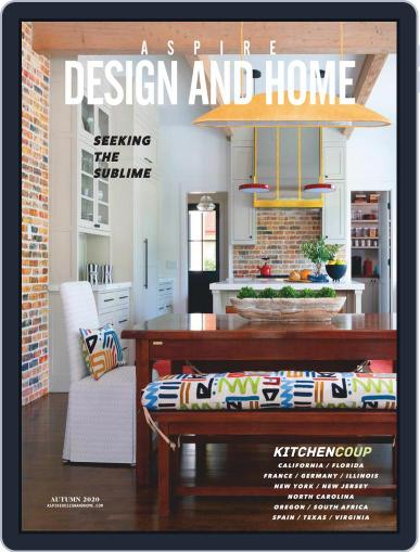 ASPIRE DESIGN AND HOME Magazine (Digital) October 1st, 2020 Issue Cover