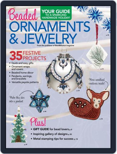 Beaded Ornaments & Jewelry Magazine (Digital) October 6th, 2017 Issue Cover