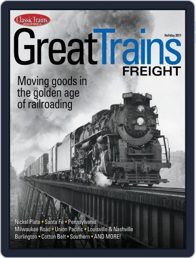 Great Trains Freight October 20th, 2017 Digital Back Issue Cover