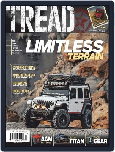 TREAD Magazine (Digital) September 1st, 2020 Issue Cover