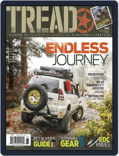 TREAD Magazine (Digital) July 1st, 2021 Issue Cover