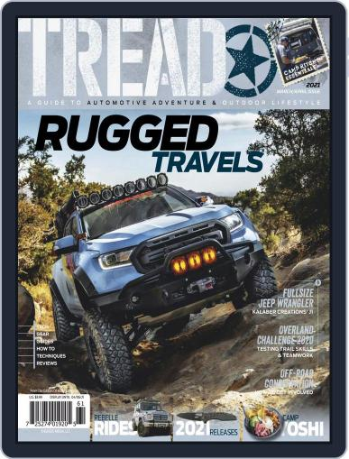TREAD Magazine (Digital) March 1st, 2021 Issue Cover