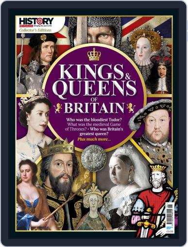Kings and Queens of Britain October 1st, 2017 Digital Back Issue Cover