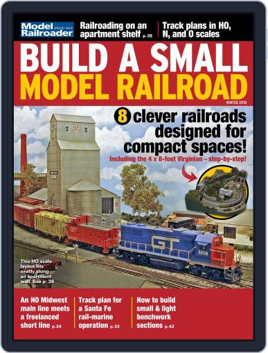 Build a Small Model Railroad October 24th, 2017 Digital Back Issue Cover