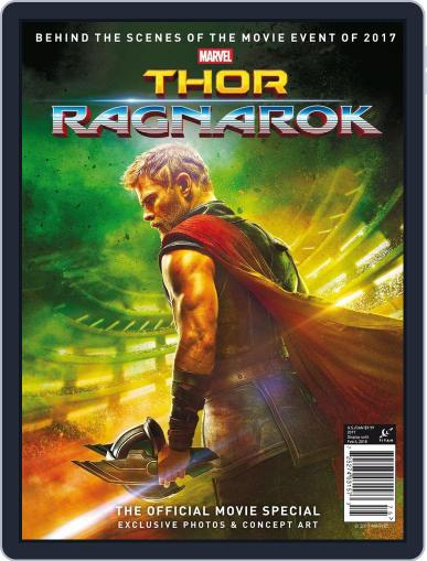 Thor: Ragnarok - The Official Movie Special November 6th, 2017 Digital Back Issue Cover