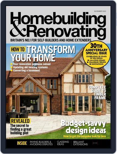 Homebuilding & Renovating Magazine (Digital) November 1st, 2020 Issue Cover