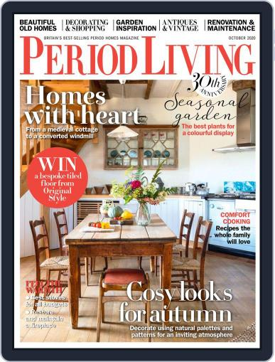 Period Living Magazine (Digital) October 1st, 2020 Issue Cover