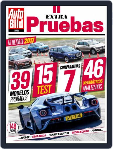 Auto Bild España Extra Magazine (Digital) November 1st, 2017 Issue Cover