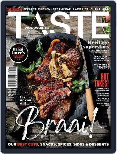 Woolworths TASTE Magazine (Digital) September 1st, 2020 Issue Cover