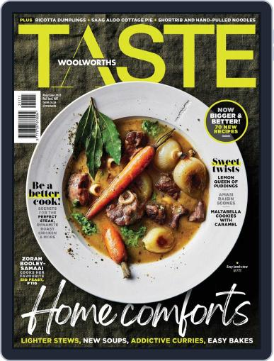 Woolworths TASTE Magazine (Digital) May 1st, 2021 Issue Cover