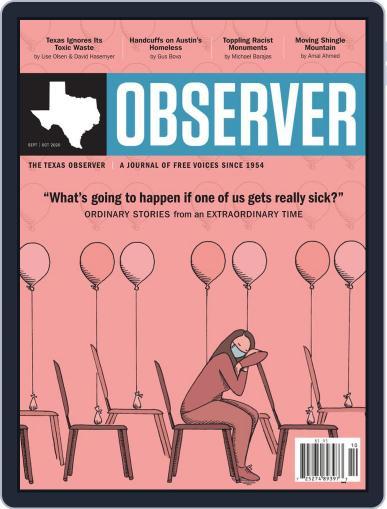 The Texas Observer Magazine (Digital) September 1st, 2020 Issue Cover