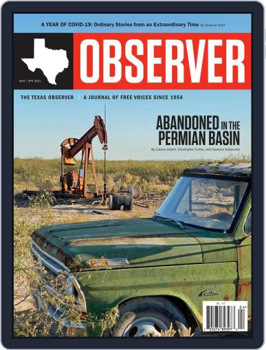 The Texas Observer Magazine (Digital) March 1st, 2021 Issue Cover