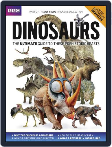 Dinosaurs December 7th, 2017 Digital Back Issue Cover