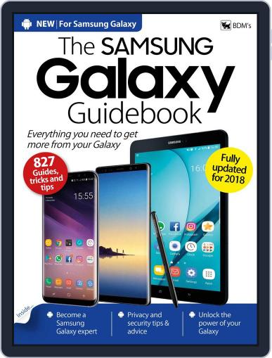 The Samsung Galaxy Guidebook Magazine (Digital) January 1st, 2018 Issue Cover