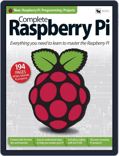 Complete Raspberry Pi Magazine (Digital) December 22nd, 2017 Issue Cover
