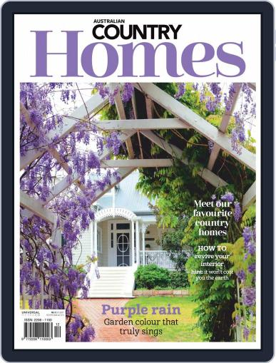 Australian Country Homes Magazine (Digital) September 1st, 2020 Issue Cover