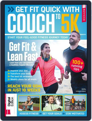Get Fit Quick with Couch to 5K Magazine (Digital) January 25th, 2018 Issue Cover