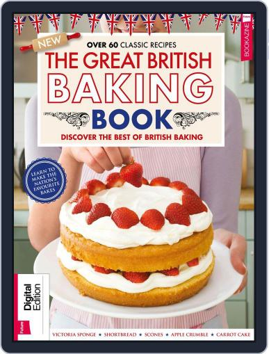 The Great British Baking Book Magazine (Digital) January 25th, 2018 Issue Cover