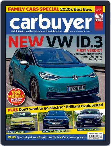 Carbuyer Magazine (Digital) July 22nd, 2020 Issue Cover