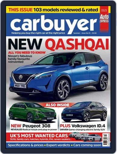 Carbuyer Magazine (Digital) April 21st, 2021 Issue Cover