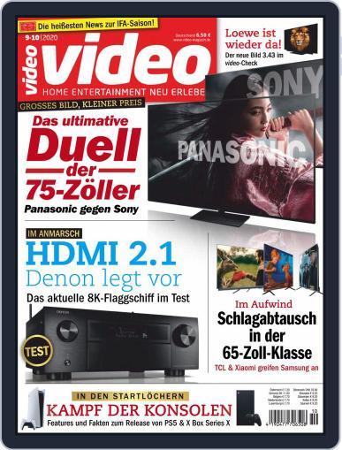 video Magazine (Digital) September 1st, 2020 Issue Cover