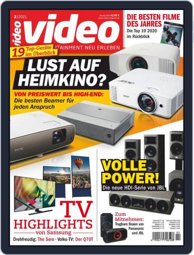video Magazine (Digital) February 1st, 2021 Issue Cover