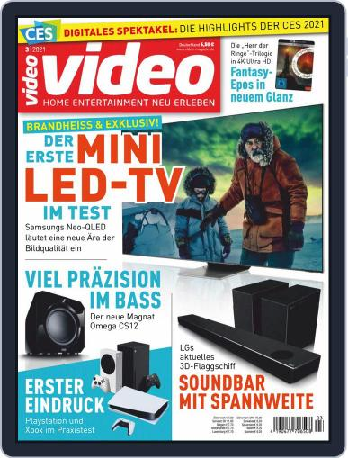 video Magazine (Digital) March 1st, 2021 Issue Cover