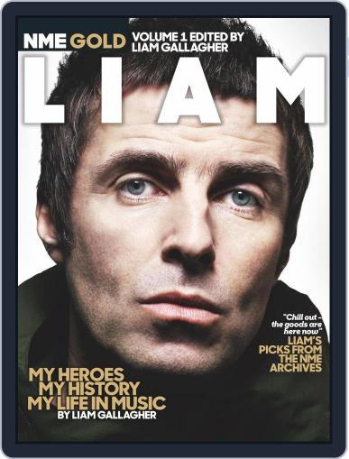 NME Gold Liam Gallagher January 17th, 2018 Digital Back Issue Cover