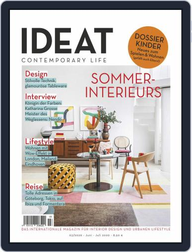 IDEAT Germany (Digital) June 1st, 2020 Issue Cover
