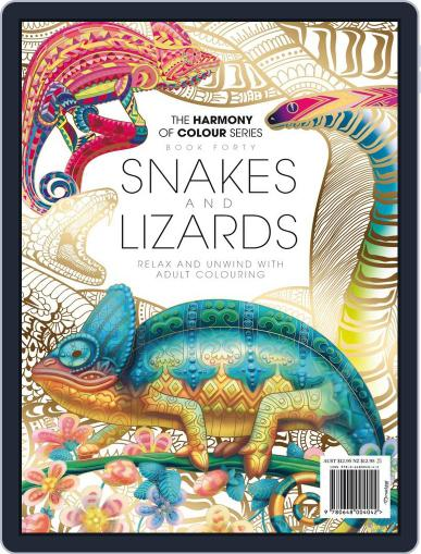 Colouring Book: Snakes and Lizards Magazine (Digital) February 16th, 2018 Issue Cover
