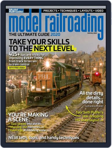Model Railroading: The Ultimate Guide (2019) March 31st, 2020 Digital Back Issue Cover