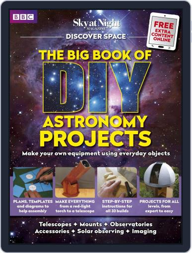 The Big Book of DIY Astronomy Projects Magazine (Digital) March 5th, 2018 Issue Cover