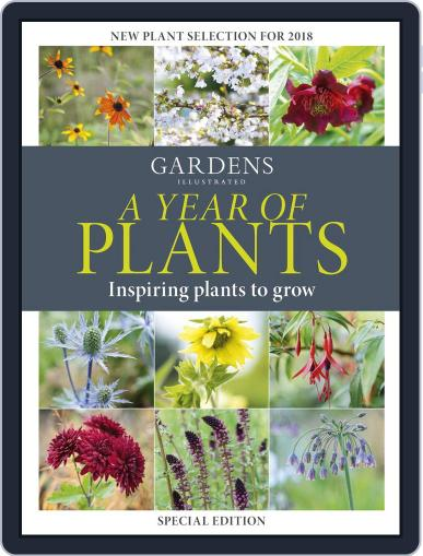 A Year of Plants 2018 Magazine (Digital) March 6th, 2018 Issue Cover