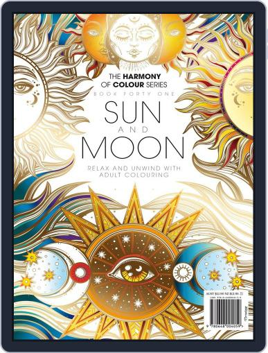 Colouring Book: Sun and Moon March 16th, 2018 Digital Back Issue Cover