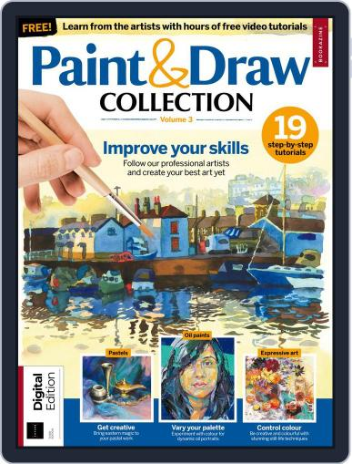 Paint & Draw Collection Magazine (Digital) March 21st, 2018 Issue Cover