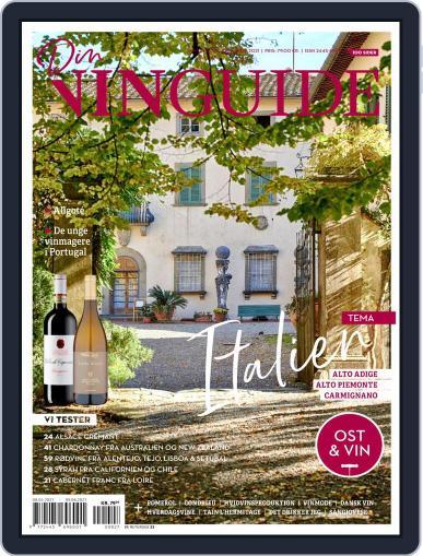 DinVinGuide Magazine (Digital) April 1st, 2021 Issue Cover