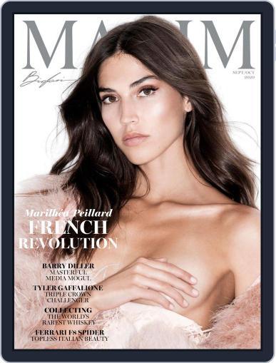 Maxim Digital Magazine September 1st, 2020 Issue Cover