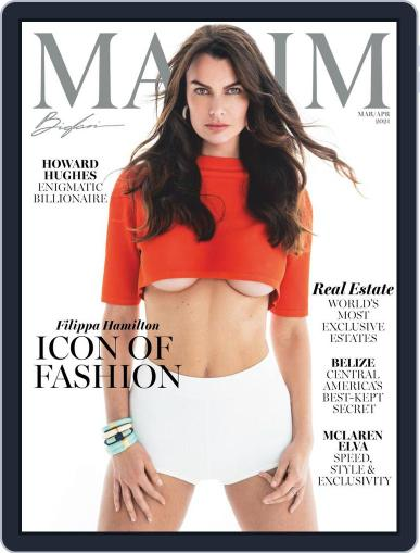 Maxim Digital Magazine March 1st, 2021 Issue Cover