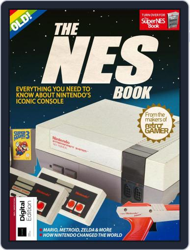 The NES/SNES Book April 10th, 2018 Digital Back Issue Cover