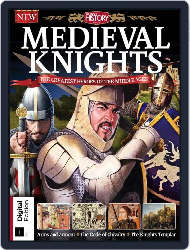 Medieval Knights April 19th, 2018 Digital Back Issue Cover