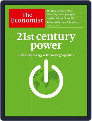 The Economist Continental Europe Edition Magazine (Digital) September 19th, 2020 Issue Cover