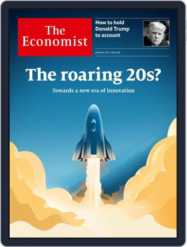 The Economist Continental Europe Edition Magazine (Digital) January 16th, 2021 Issue Cover