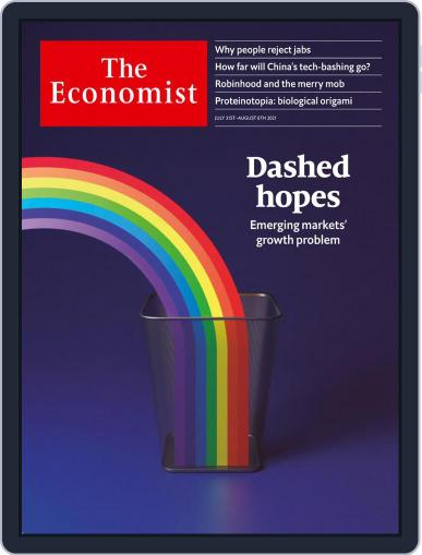 The Economist Continental Europe Edition Magazine (Digital) July 31st, 2021 Issue Cover