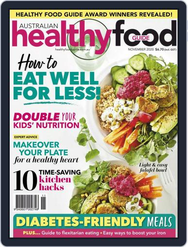 Healthy Food Guide Magazine (Digital) November 1st, 2020 Issue Cover