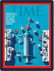 Time Magazine International Magazine (Digital) Subscription September 21st, 2020 Issue