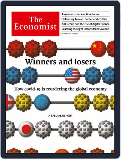 The Economist UK edition Magazine (Digital) October 10th, 2020 Issue Cover