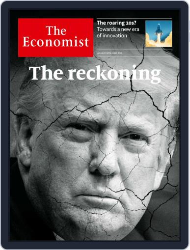 The Economist UK edition Magazine (Digital) January 16th, 2021 Issue Cover