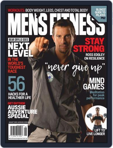 Australian Men's Fitness Magazine (Digital) August 1st, 2020 Issue Cover