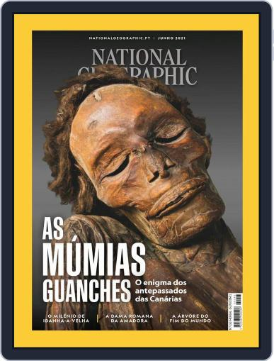 National Geographic Magazine  Portugal Magazine (Digital) June 1st, 2021 Issue Cover